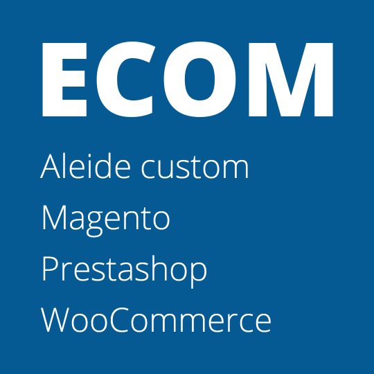 Ecommerce Magento / Prestashop / Custom