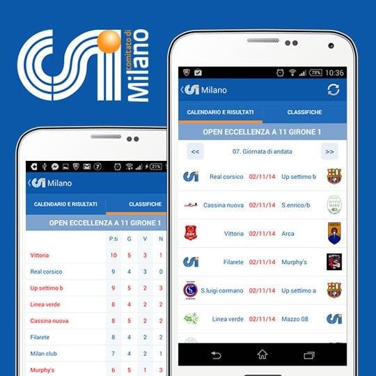 Calendario Csi Milano.Sviluppo Applicazioni Mobile Per Android E Ios Aleide Milano